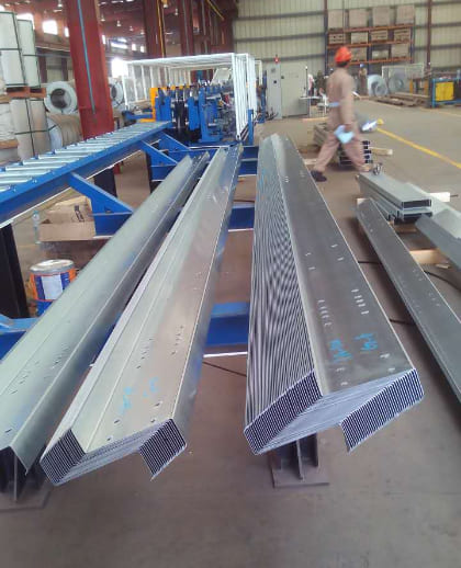 Building Z Purlins