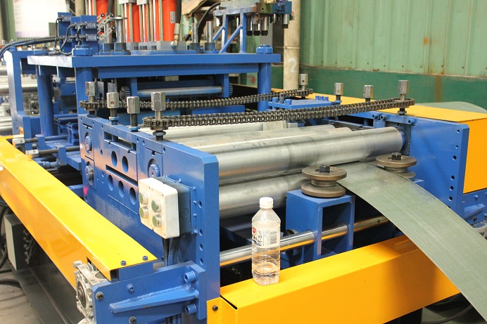 CZ Purlin Interchangeable Roll Forming Machine SX20