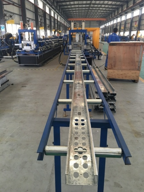C Purlin Roll Forming Machine LS75-300