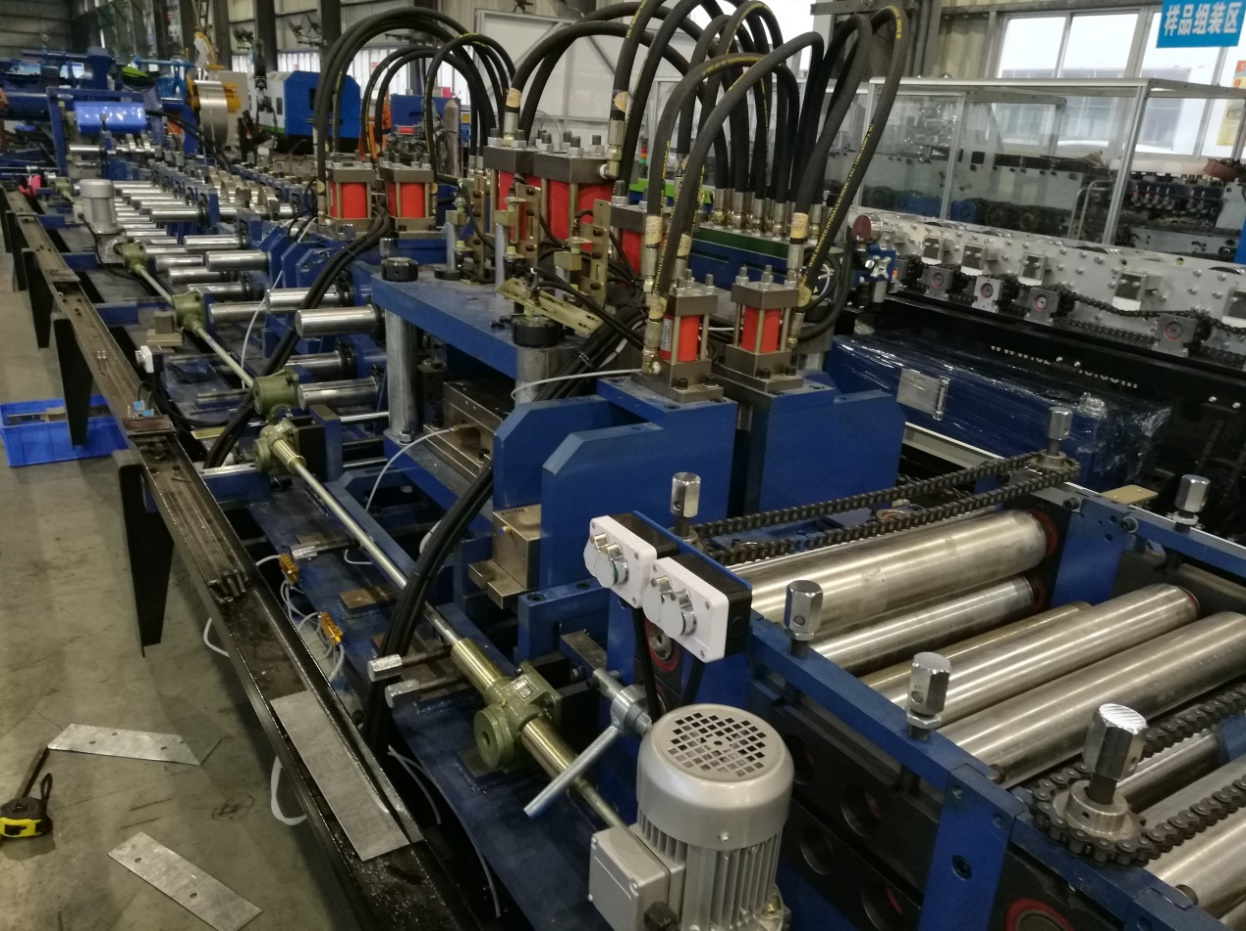 MF Gauge Steel Framing Machine