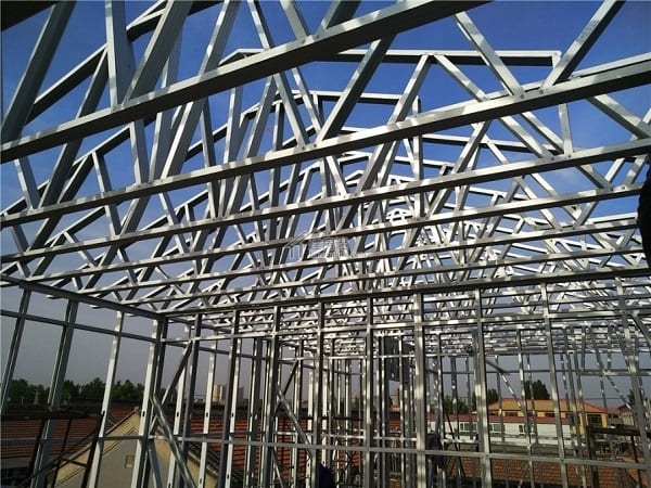 Roofing structure fabricate