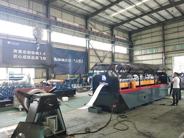 CU Stud&Track Light Frame Forming Machine MF200