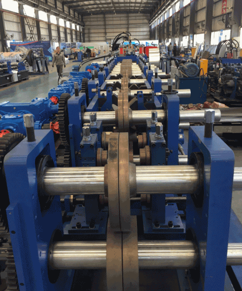 CZ Purlin Roll Forming Machine FX350