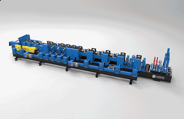 Automatic C/Z Purlin Roll Forming Machine FX350