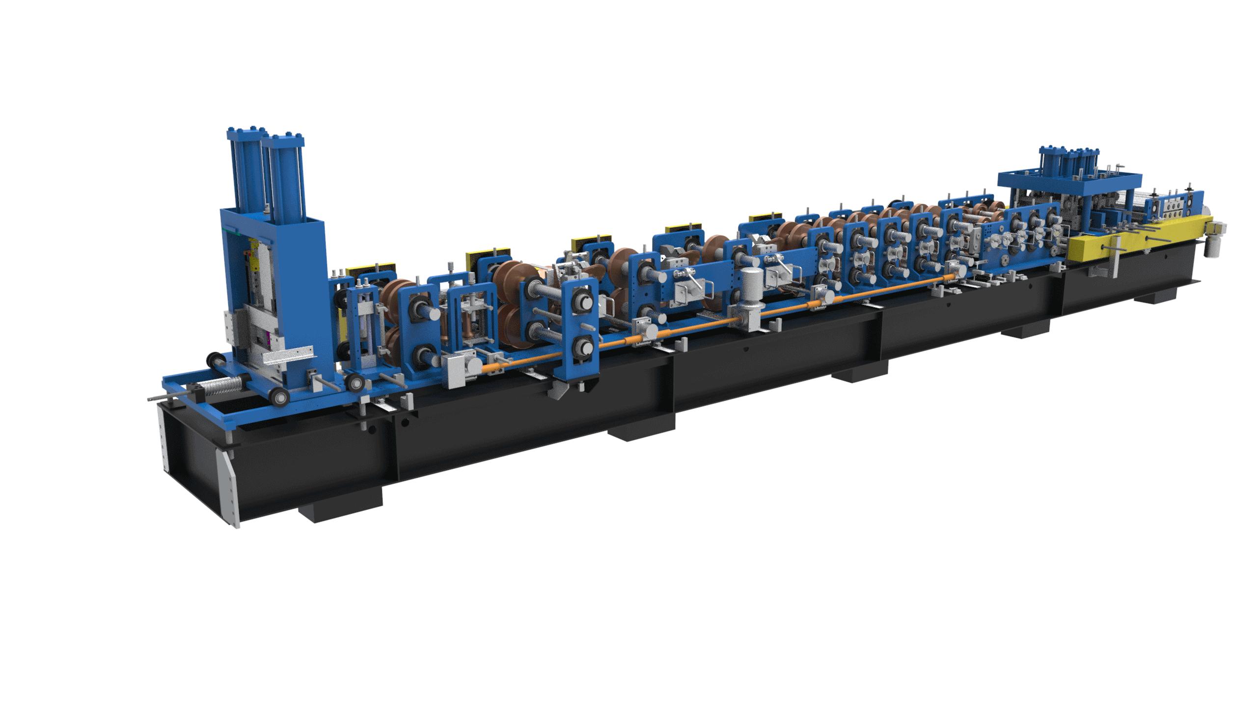 CZ Purlin Interchangeable Roll Forming Machine SX20