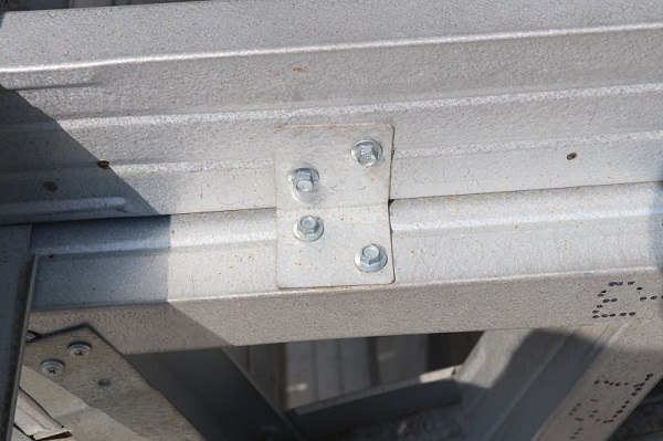 Corner connect parts