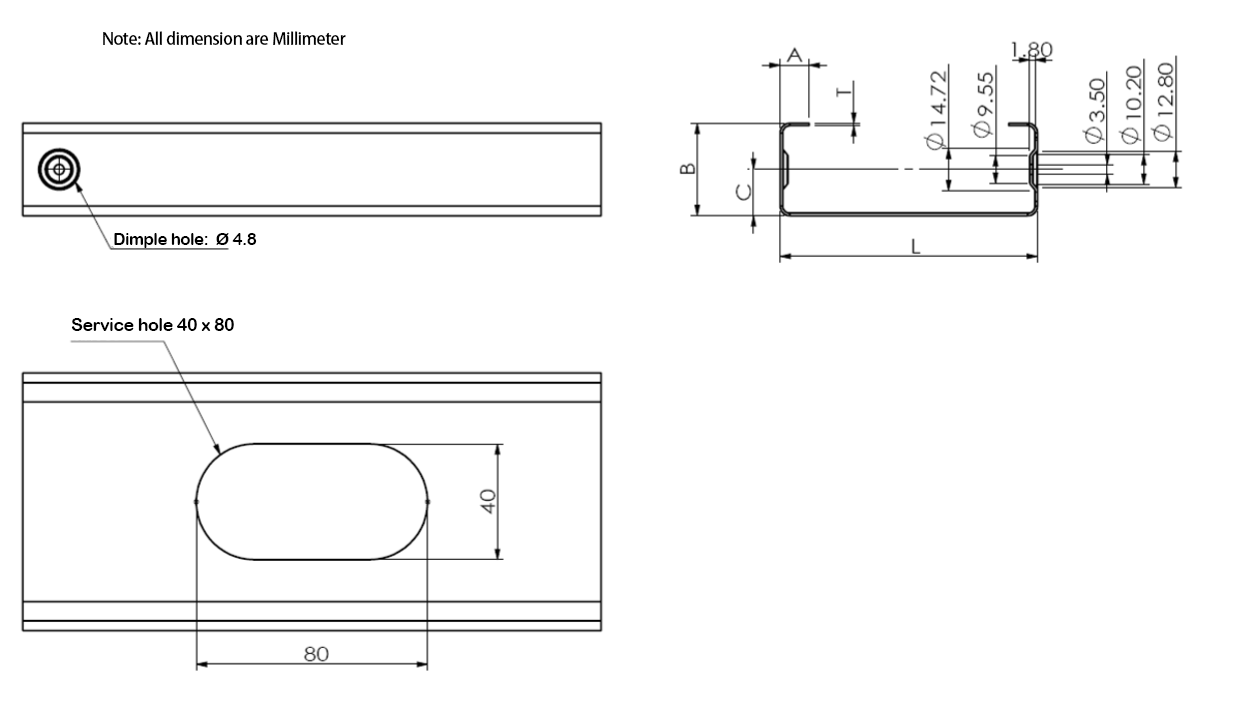 MF200 light steel machine