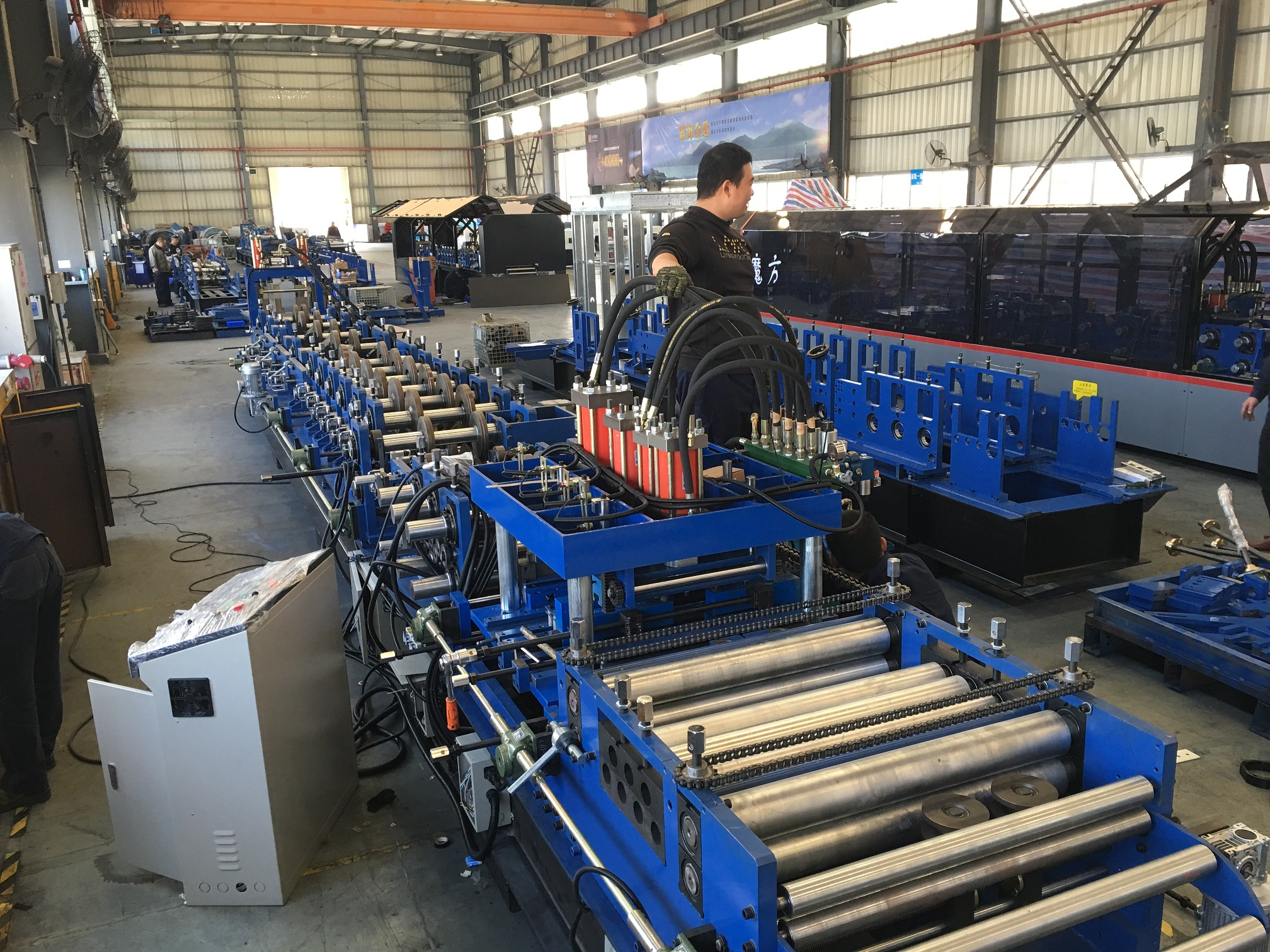 dahezbforming purlin machine NL300