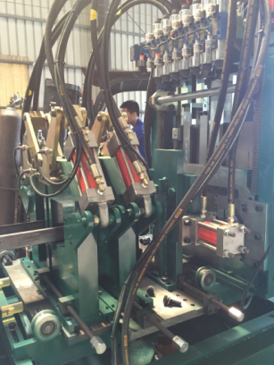 Automatic C/Z Purlin Roll Forming Machine FX450