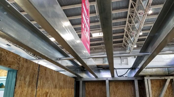 light steel framing machine profile